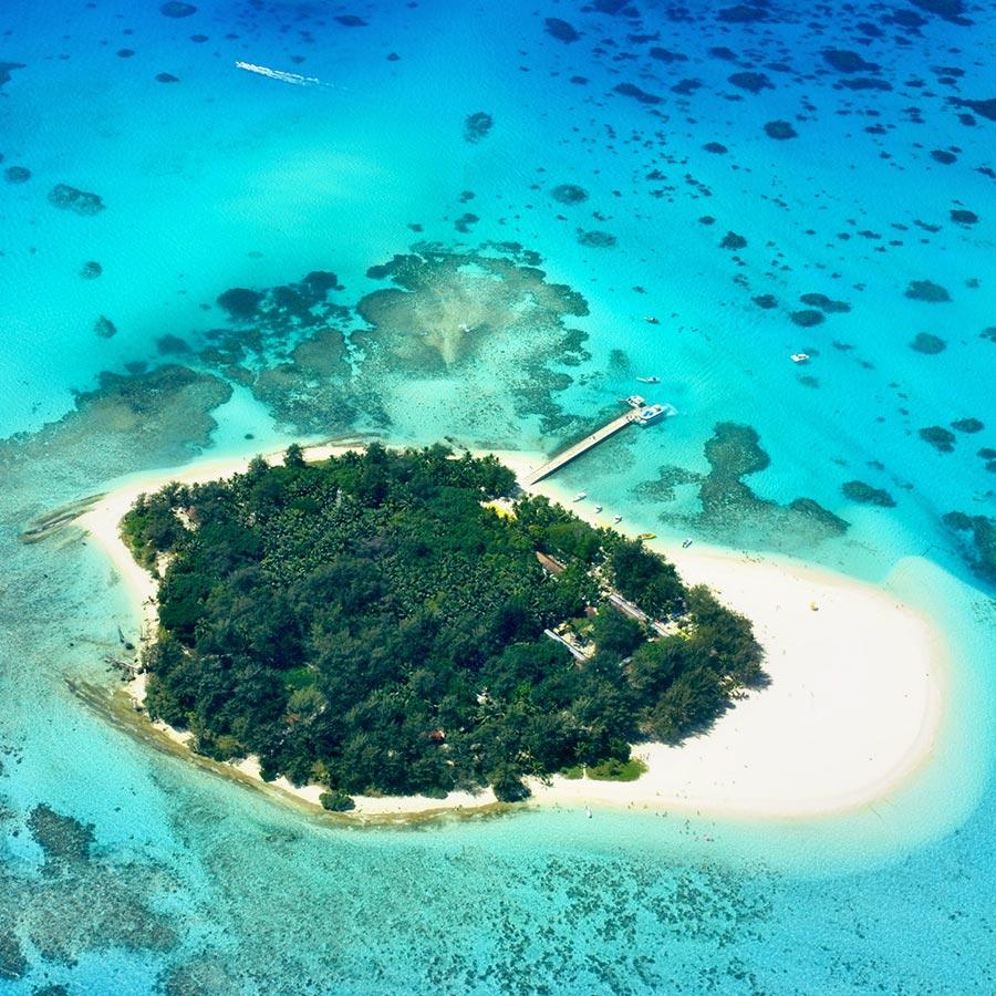 軍鑑岩絕美七色海|叢林探險|免稅購物天堂