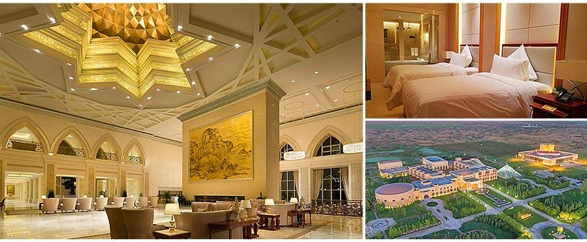 「庫布其沙漠七星湖酒店」的圖片搜尋結果