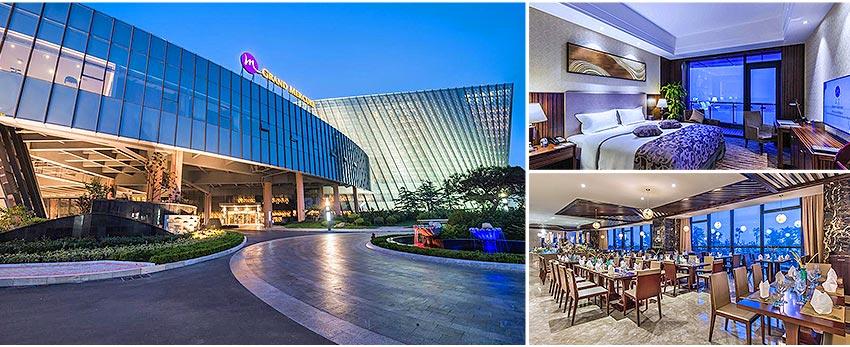 國際品牌5星 - 青島南山美爵度假酒店(海景房)