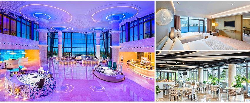 國際5★ 青島西海岸隆和艾美酒店(海景房)
