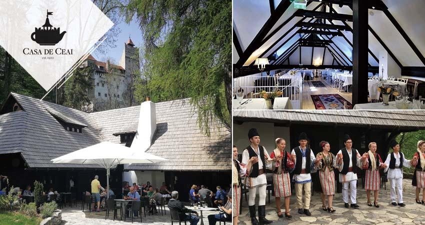 德古拉城堡畔~Casa de Ceai庭園西式風味料理