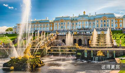 俄羅斯_聖彼得堡_彼得霍夫宮(夏宮)