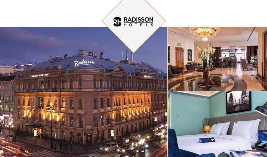 聖彼得堡-五星Radisson Royal Hotel, St. Petersburg