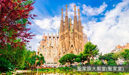 西班牙_巴塞隆納_聖家族大教堂(聖家堂)