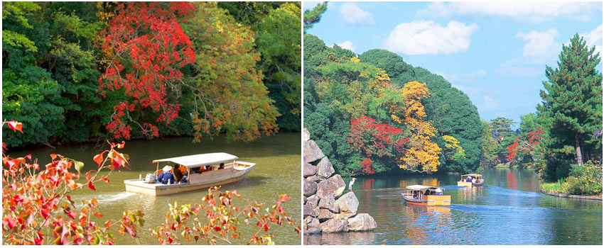 松江堀川遊覽船