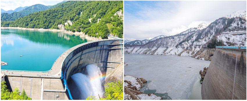 黑部峽谷水壩