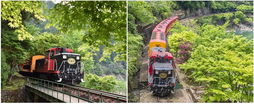 嵐山嵯峨野浪漫小火車