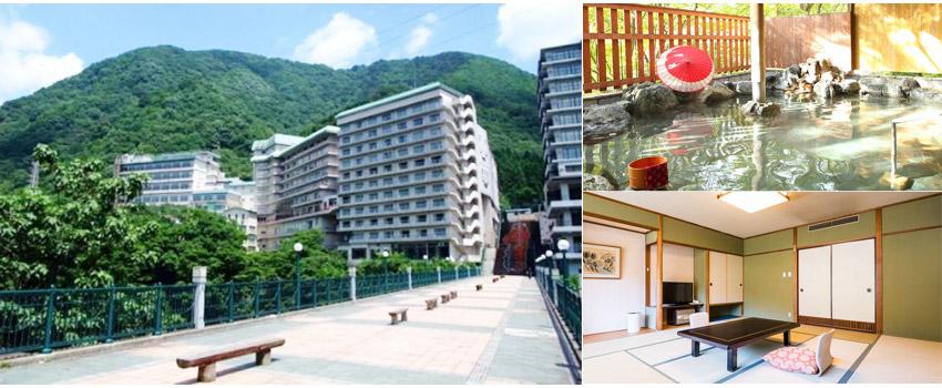 大江戶物語鬼怒川溫泉Ooedo-Onsen Monogatari Hotel Kinugawa Gyoen