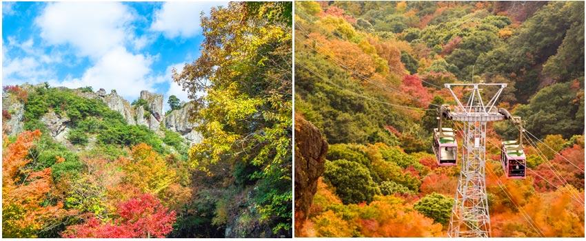 日本百景~寒霞溪公園
