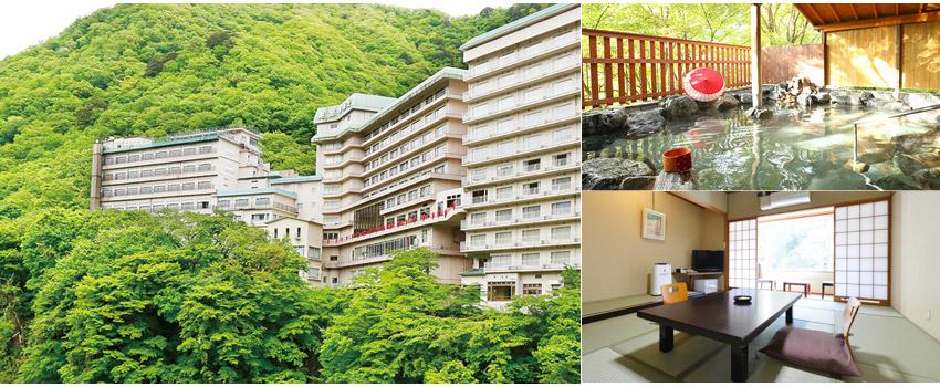 大江戶溫泉物語鬼怒川御苑飯店 Hotel Kinugawa Gyoen