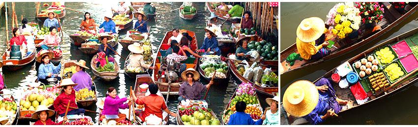 丹能莎朵歐式水上市場