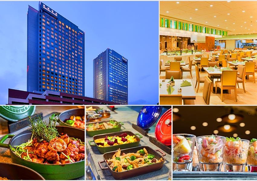 六福萬怡酒店自助餐