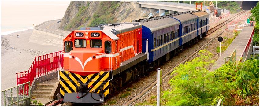 南迴藍皮火車