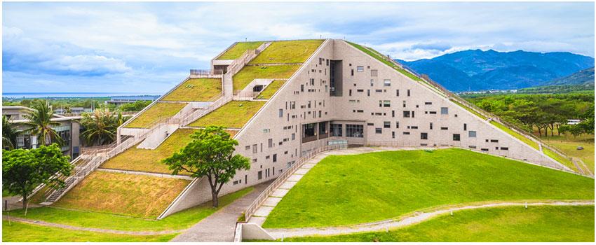 台東大學知本校區綠色圖書館