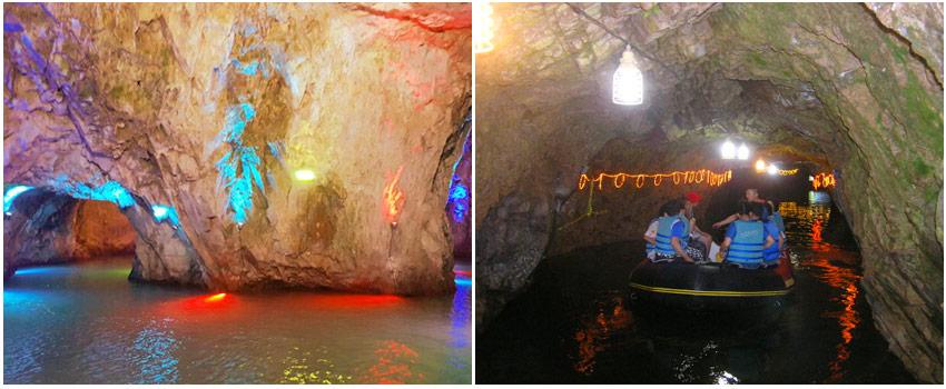 蔚山水晶洞窟+遊船