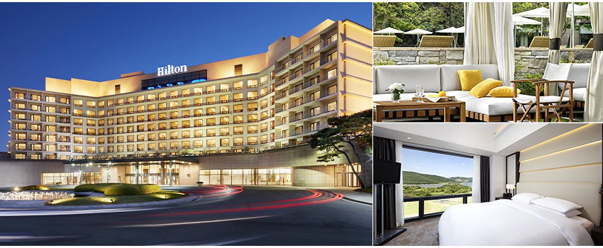 特一級五星慶州希爾頓酒店