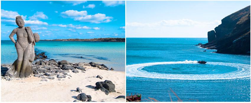 牛島燈塔博物館─黑沙沙灘─珊瑚礁沙灘