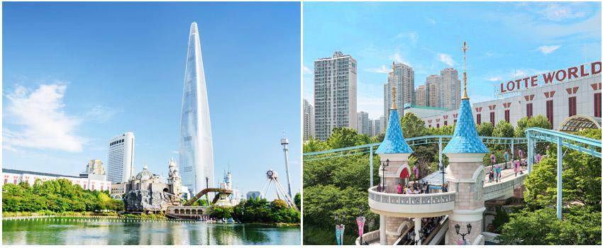 首爾市區主題樂園LOTTE WORLD樂天世界