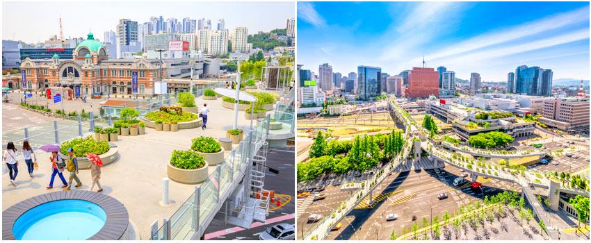 首爾路7017 空中花園