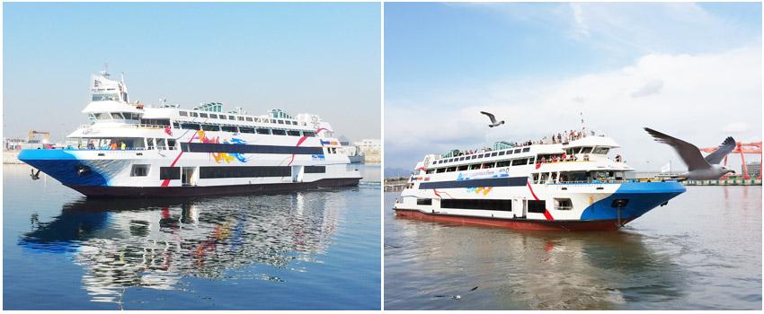 京仁Ara運河遊覽船