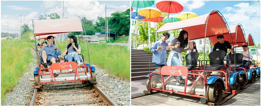 江村鐵道自行車(4人一部)