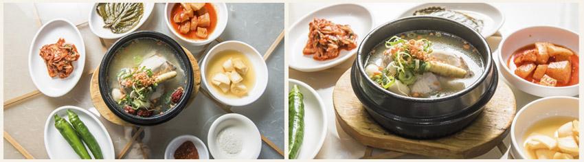 白鍾元的三大天王推薦金星蔘雞湯
