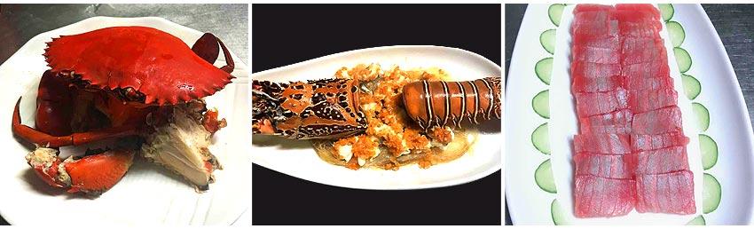 雙螃蟹+生猛雙龍蝦