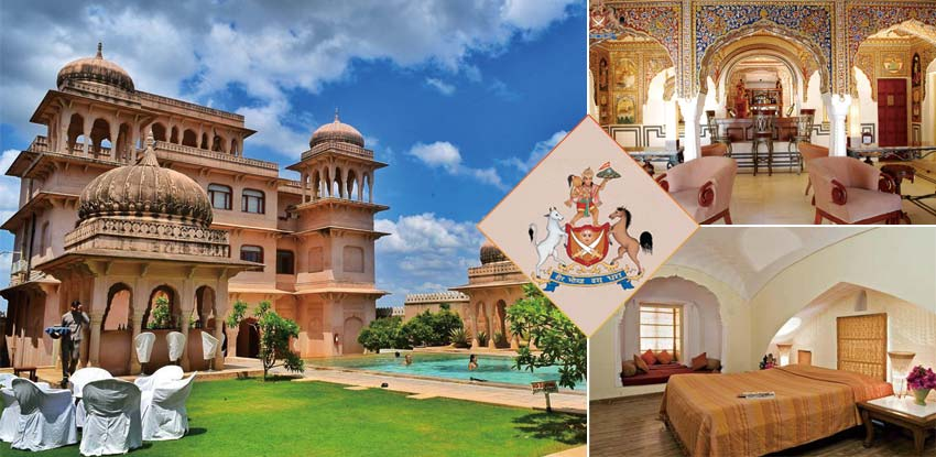 Castle-Mandawa-Hotel_印度_城堡飯店