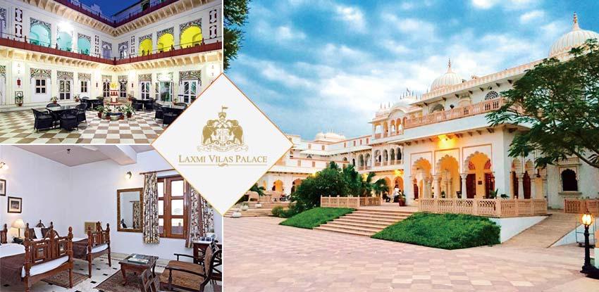 印度-巴拉特普爾-皇宮飯店-Laxmi Vilas Palace