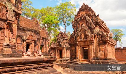 柬埔寨_吳哥窟_女皇宮