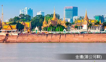 柬埔寨_金邊_湄公河畔