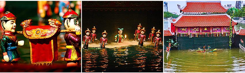 越南國寶水上木偶劇