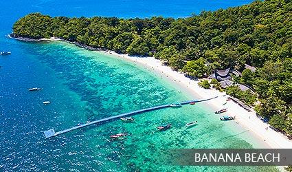 珊瑚島 香蕉海灘