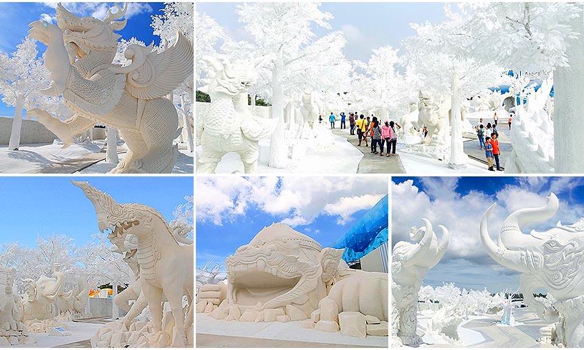 蘇坦冰雕奇緣歡樂白雪世界