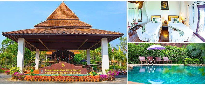 Golden Pine Resort & Spa Chiang Rai