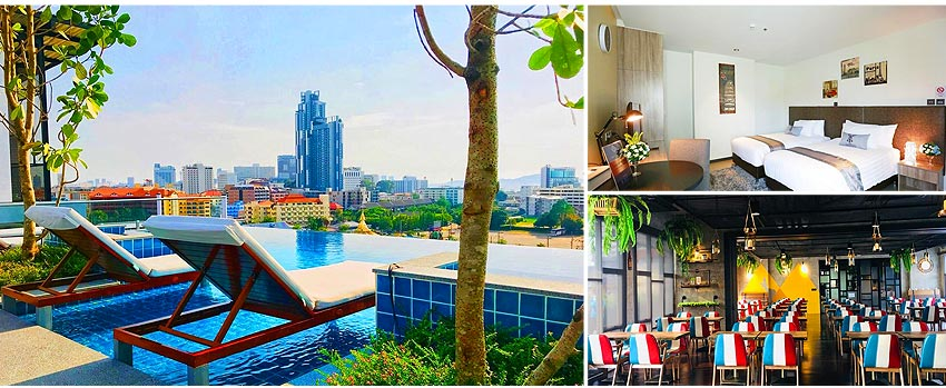 芭堤雅T酒店 T Pattaya Hotel