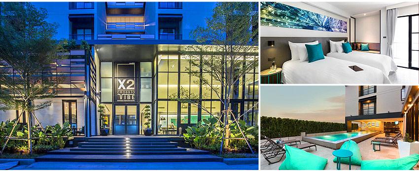 4星 曼谷素坤逸X2飯店 X2 Vibe Bangkok Sukhumvit