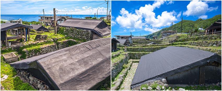 蘭嶼-野銀舊部落-傳統地下屋