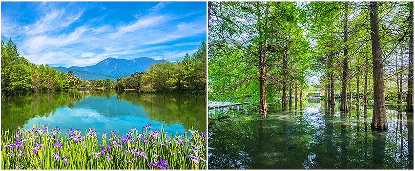 夢幻湖~雲山水