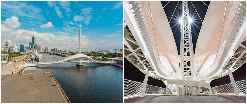 大港橋-亞洲最長跨港水平旋轉橋