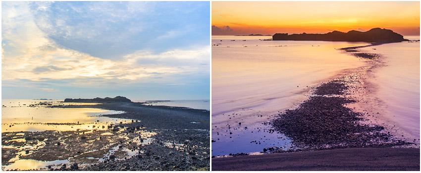奎壁山、赤嶼踏浪&摩西分海
