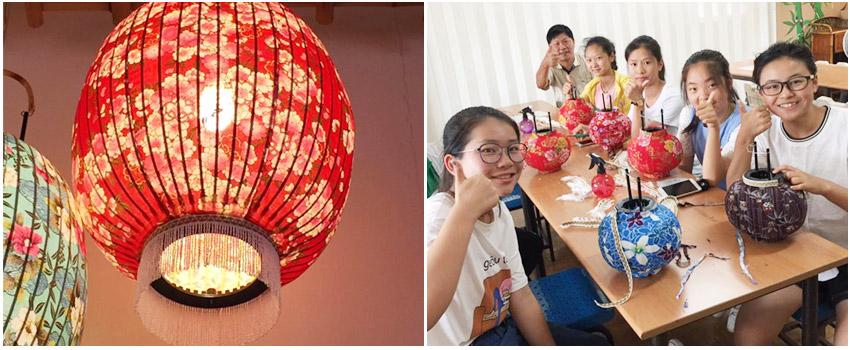 光遠燈籠-花布燈籠製作DIY