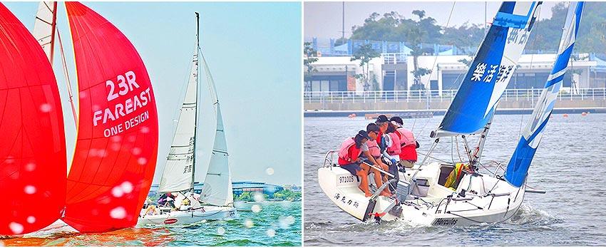 俱樂部競賽F23帆船新體驗