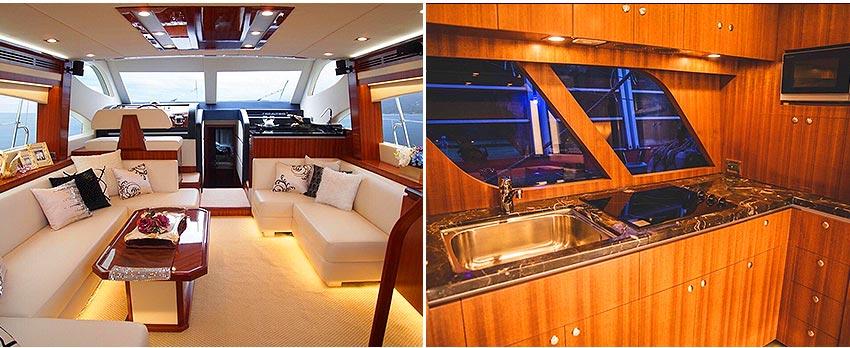 歐風58呎諾瓦帝義大利頂級千萬遊艇