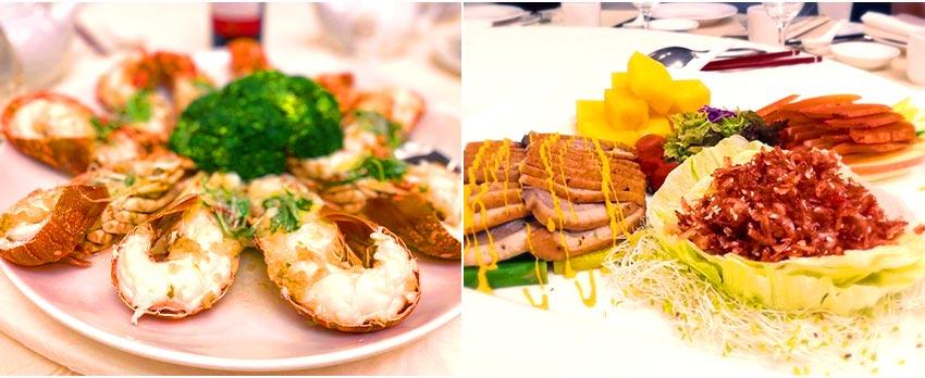 一日元首國宴餐