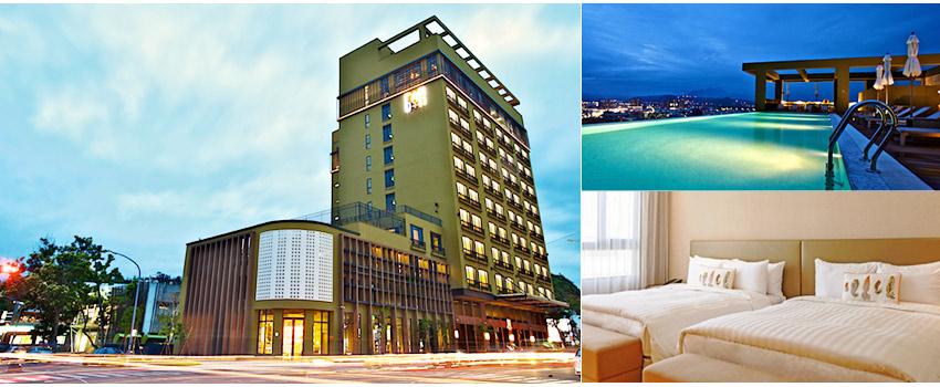 The GAYA Hotel潮渡假酒店-全台灣第一家智能型飯店